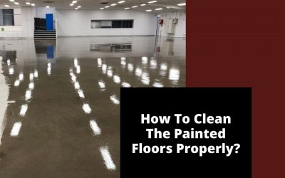 How To Clean The Painted Floors Properly?